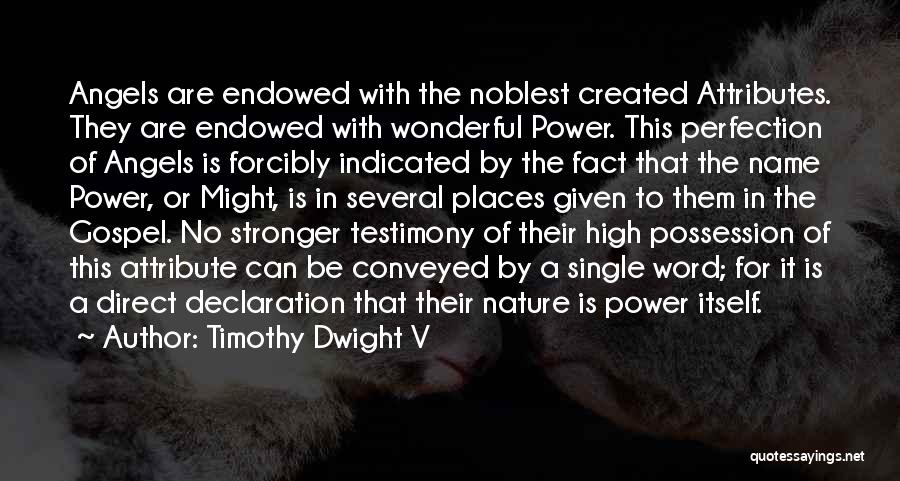 To Be Stronger Quotes By Timothy Dwight V