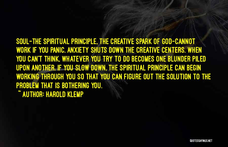 To Begin Quotes By Harold Klemp
