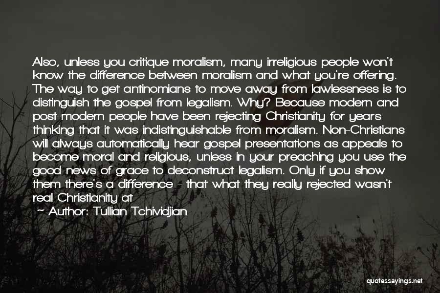 To Begin Quotes By Tullian Tchividjian