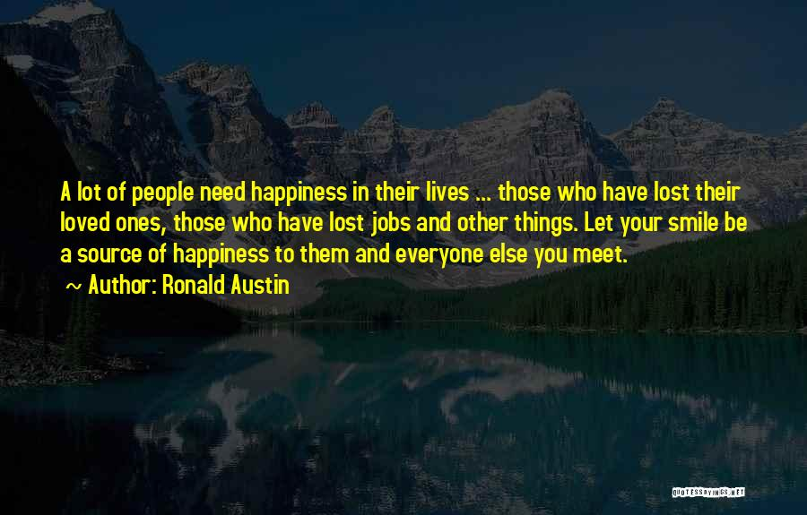 To Have Loved And Lost Quotes By Ronald Austin