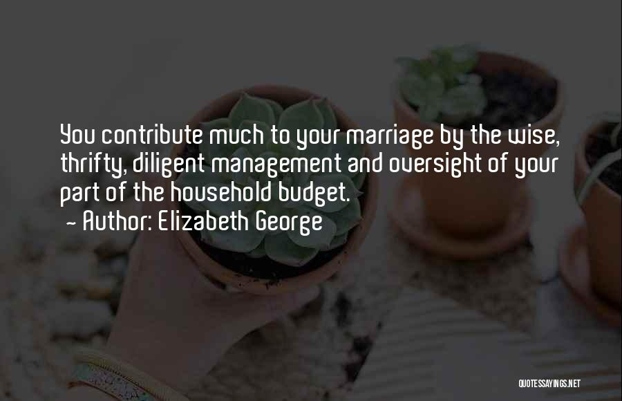 To Husband Love Quotes By Elizabeth George