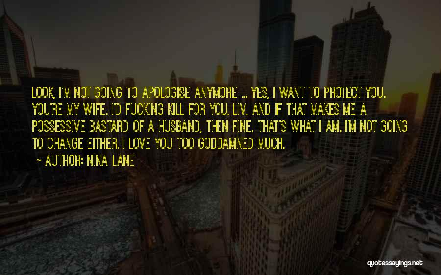 To Husband Love Quotes By Nina Lane