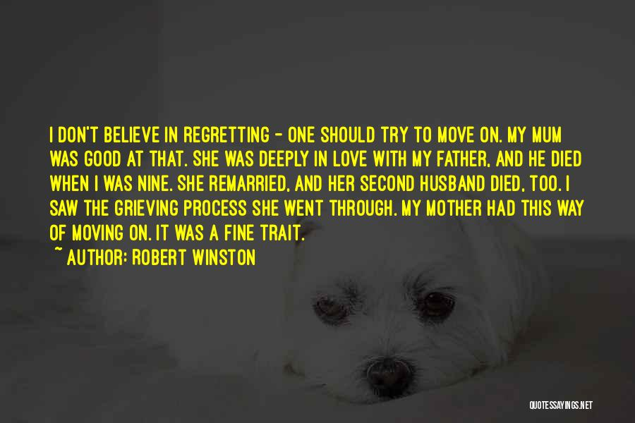 To Husband Love Quotes By Robert Winston