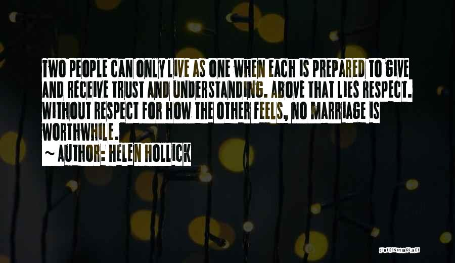 To Live Without Love Quotes By Helen Hollick