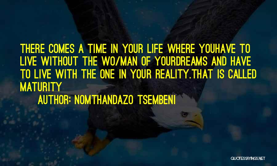To Live Without Love Quotes By Nomthandazo Tsembeni