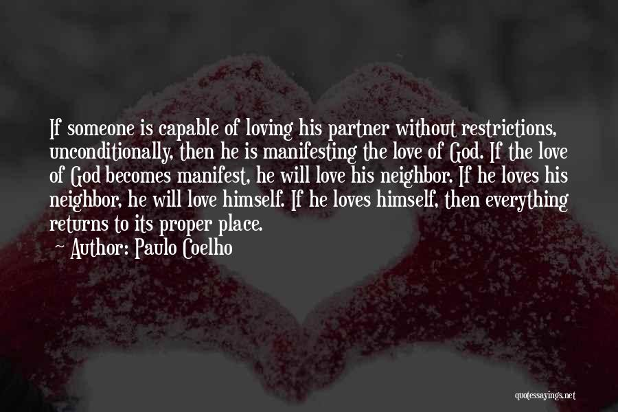 To Love Someone Unconditionally Quotes By Paulo Coelho