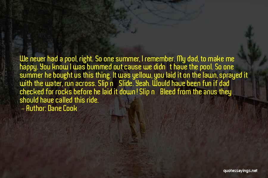 To Make Me Happy Quotes By Dane Cook