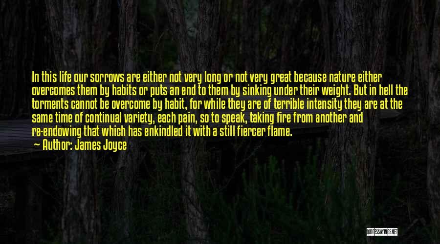 To Overcome Pain Quotes By James Joyce