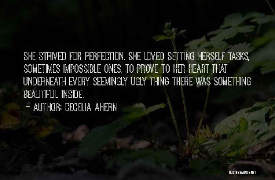 To Prove Something Quotes By Cecelia Ahern