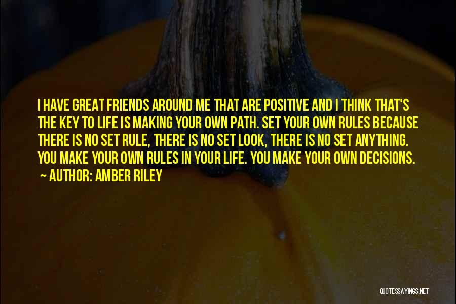 To Think Positive Quotes By Amber Riley