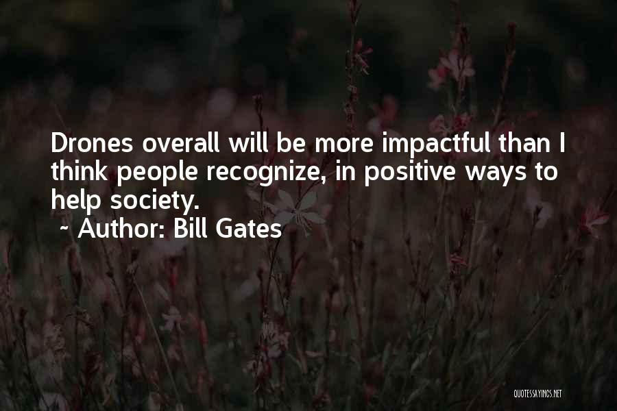 To Think Positive Quotes By Bill Gates