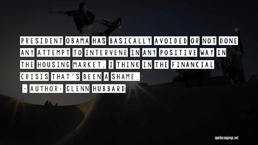 To Think Positive Quotes By Glenn Hubbard