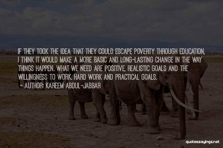 To Think Positive Quotes By Kareem Abdul-Jabbar
