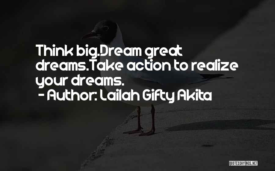 To Think Positive Quotes By Lailah Gifty Akita