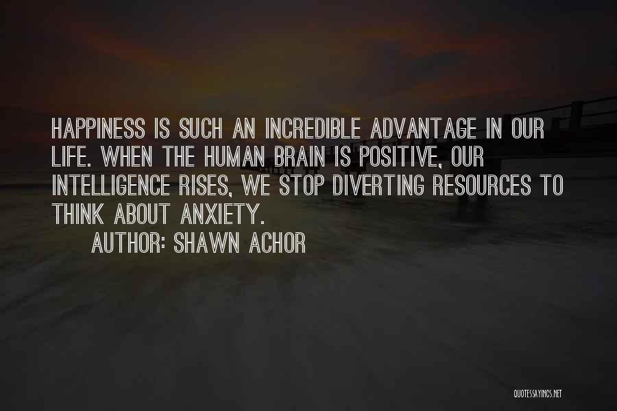 To Think Positive Quotes By Shawn Achor