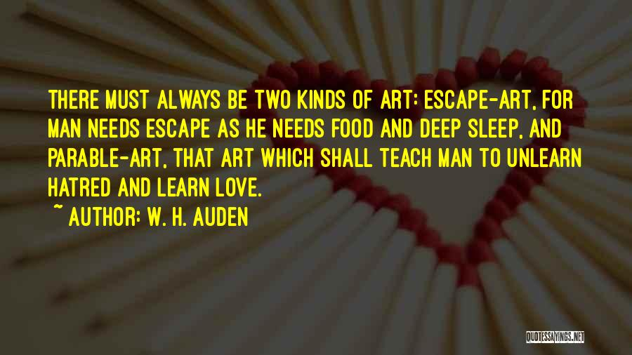 To Unlearn Quotes By W. H. Auden