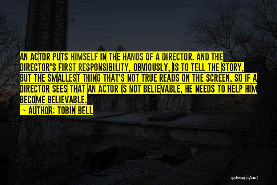 Tobin Bell Quotes 546650