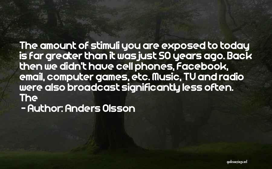 Today Facebook Quotes By Anders Olsson