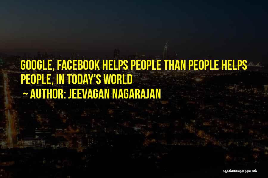 Today Facebook Quotes By Jeevagan Nagarajan