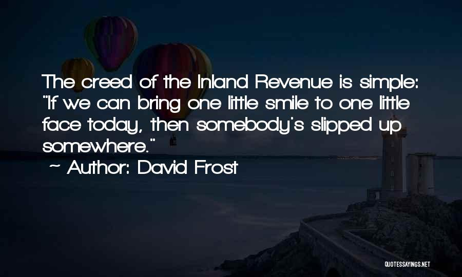 Today Funny Quotes By David Frost