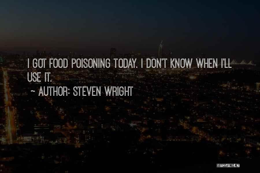 Today Funny Quotes By Steven Wright