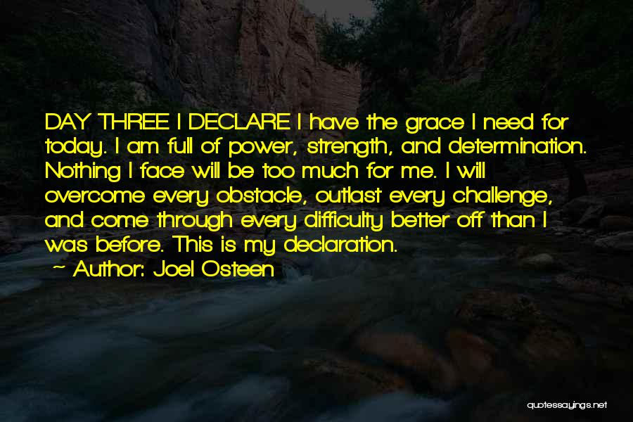 Today Is My Day Off Quotes By Joel Osteen