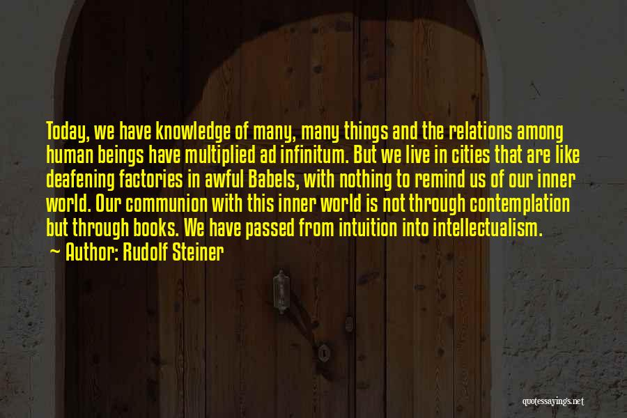Today Was Awful Quotes By Rudolf Steiner