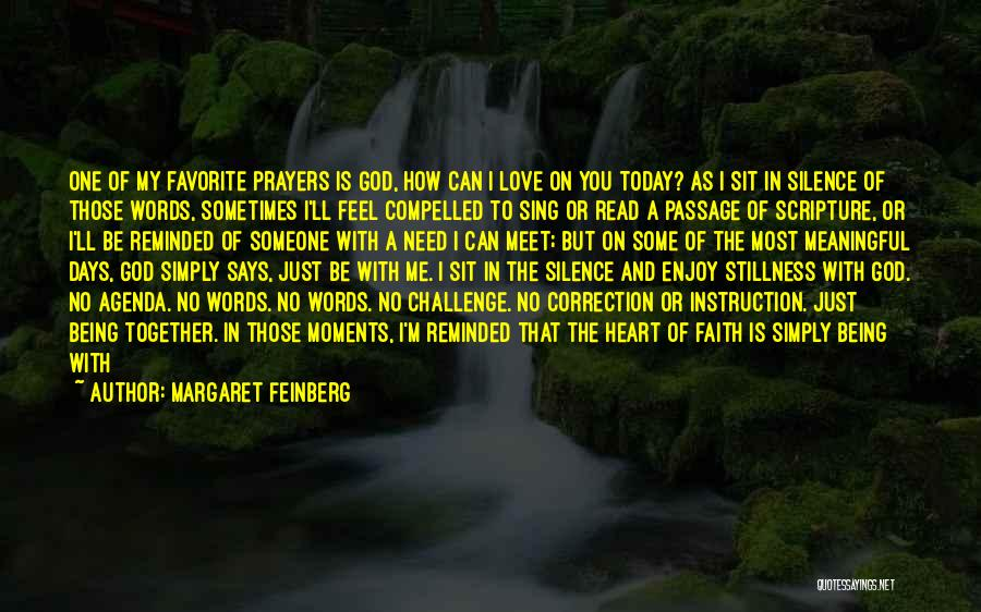Today's One Of Those Days Quotes By Margaret Feinberg