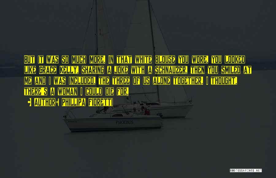 Together But Alone Quotes By Phillipa Fioretti