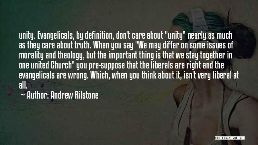 Together United Quotes By Andrew Rilstone