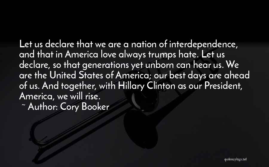 Together United Quotes By Cory Booker