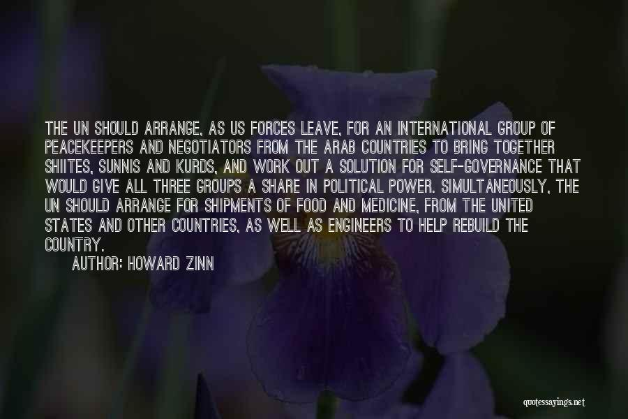 Together United Quotes By Howard Zinn