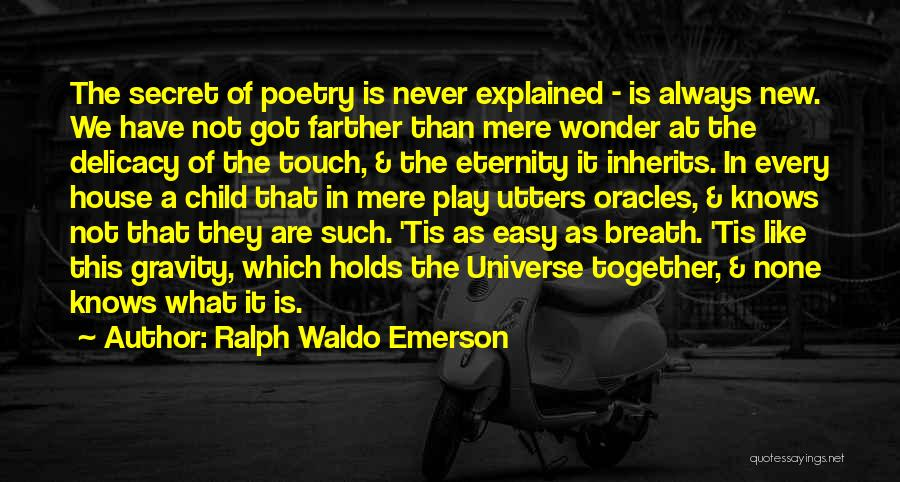 Together We Got This Quotes By Ralph Waldo Emerson