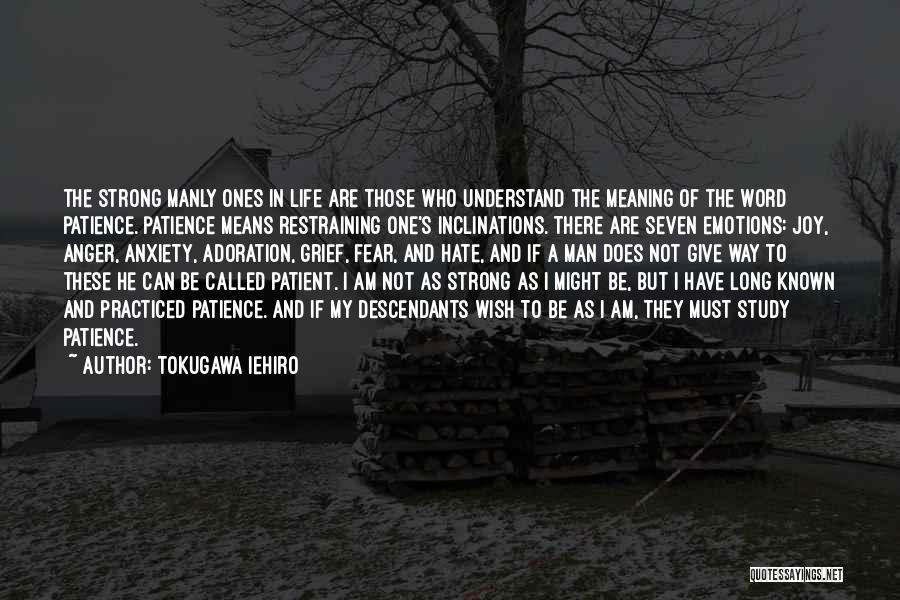 Tokugawa Iehiro Quotes 195634