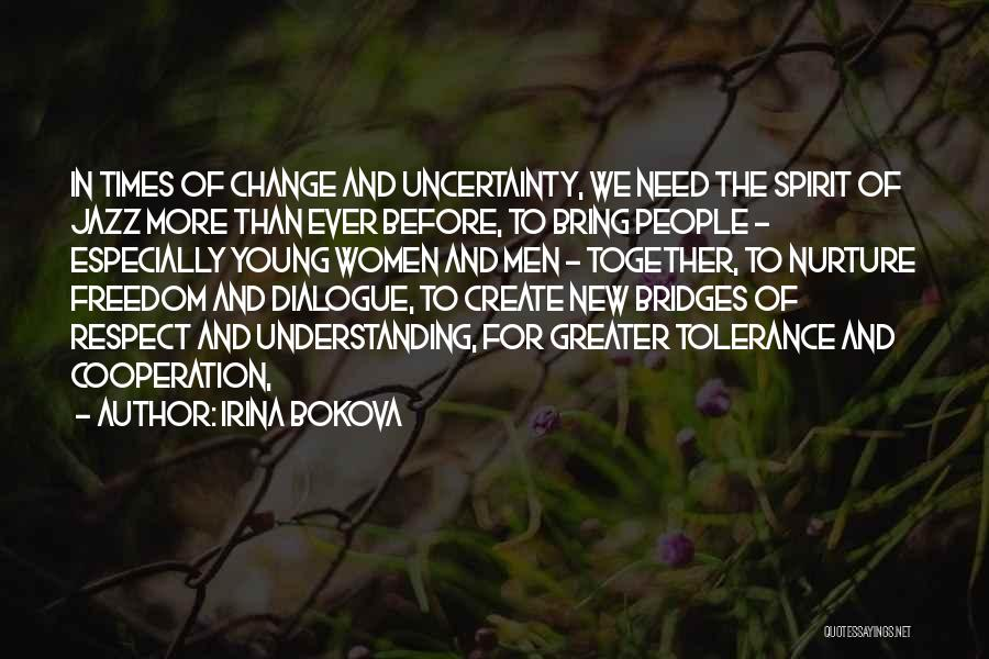 Tolerance And Respect Quotes By Irina Bokova
