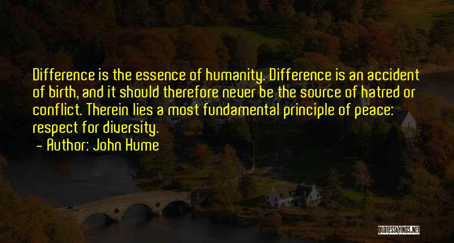 Tolerance And Respect Quotes By John Hume