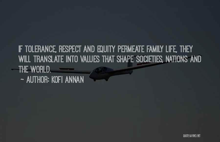 Tolerance And Respect Quotes By Kofi Annan