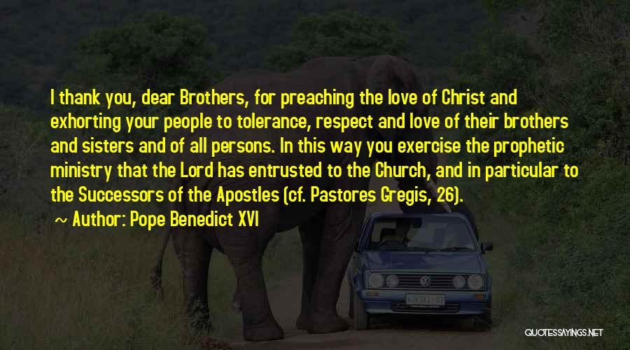 Tolerance And Respect Quotes By Pope Benedict XVI