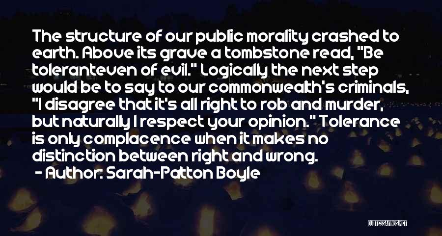 Tolerance And Respect Quotes By Sarah-Patton Boyle