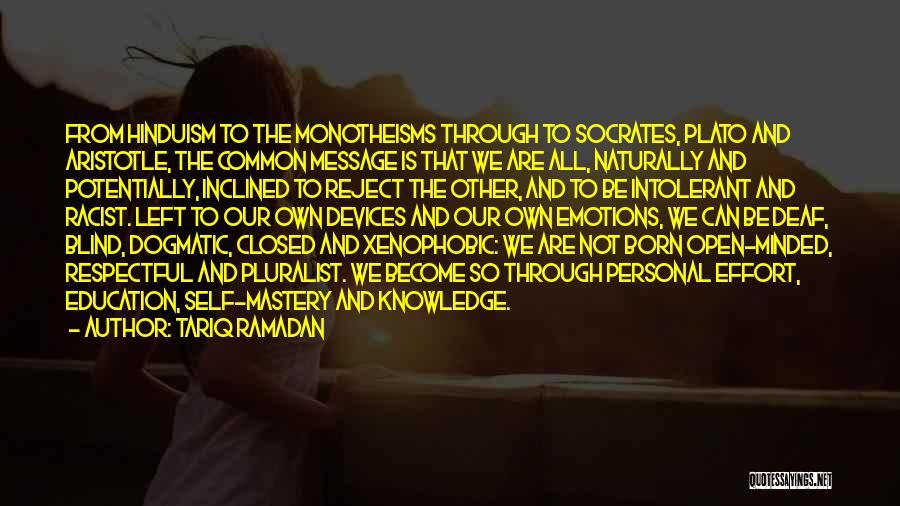 Tolerance And Respect Quotes By Tariq Ramadan