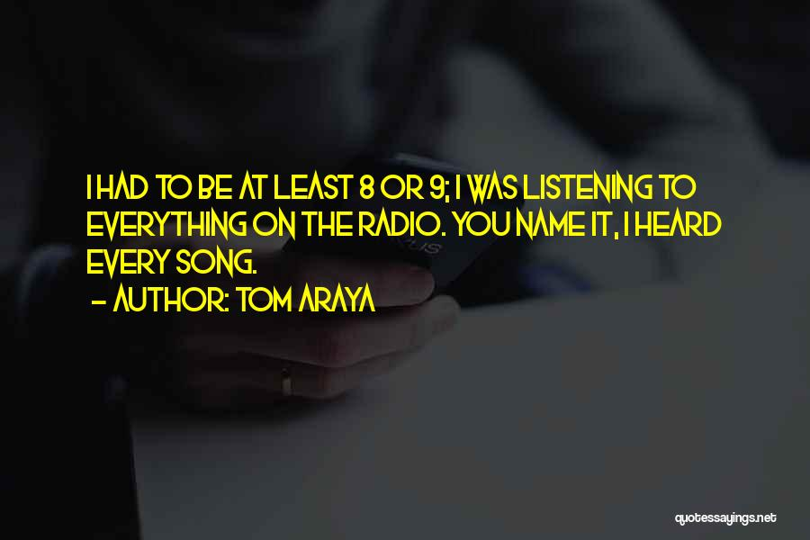 Tom Araya Quotes 1236700