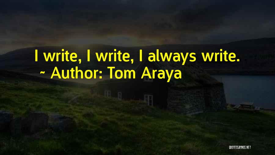 Tom Araya Quotes 622476