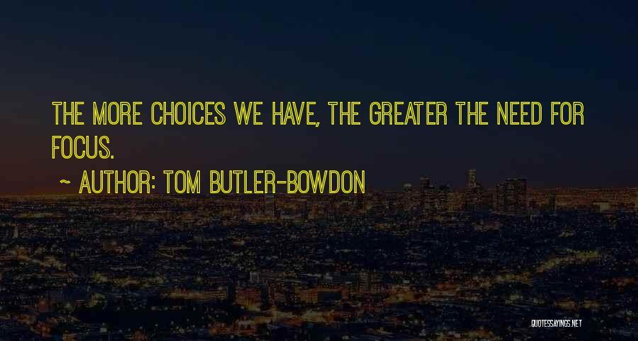 Tom Butler-Bowdon Quotes 153463