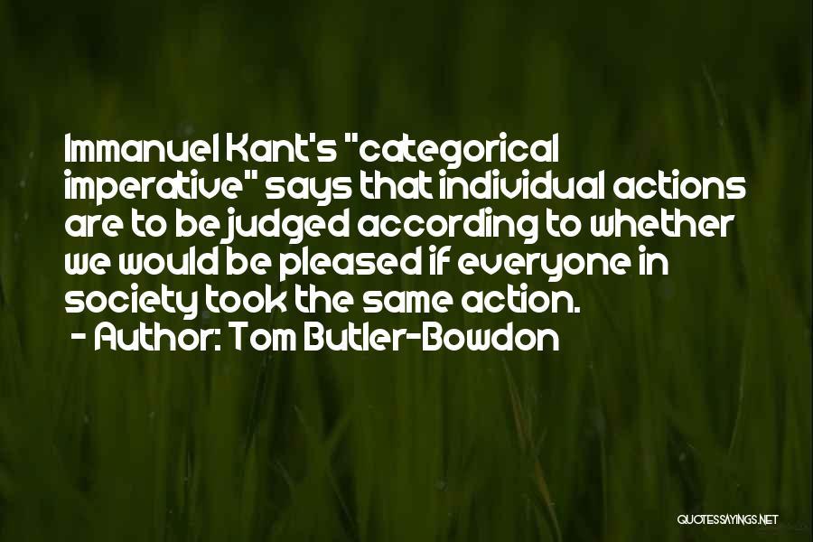 Tom Butler-Bowdon Quotes 595686