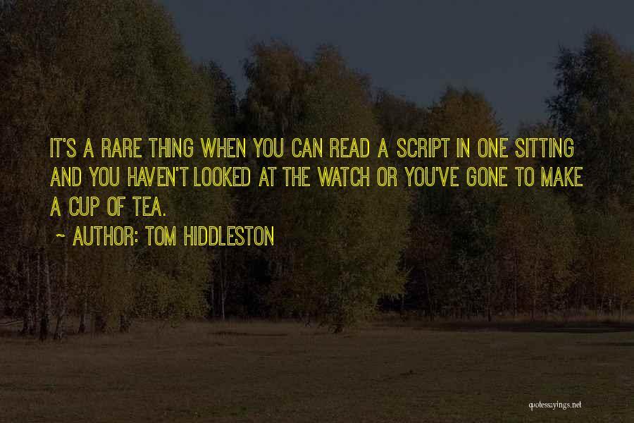 Tom Hiddleston Quotes 1020977