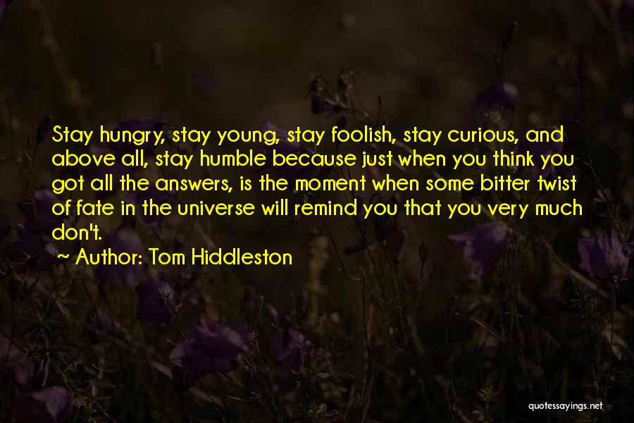 Tom Hiddleston Quotes 1442693
