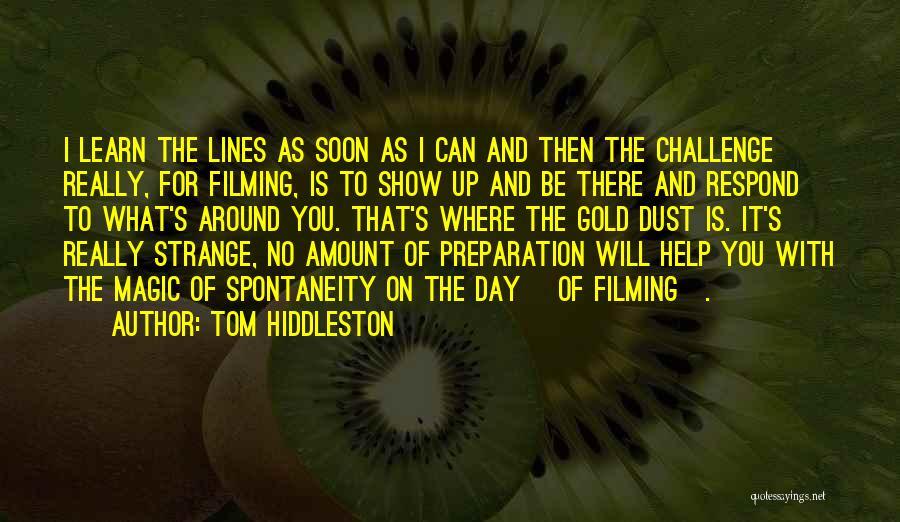 Tom Hiddleston Quotes 1737211