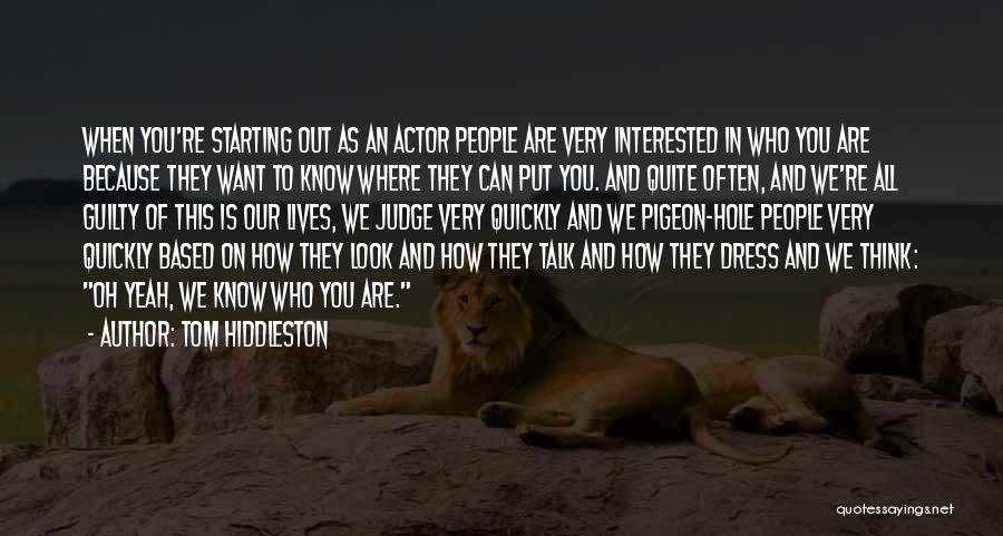 Tom Hiddleston Quotes 382490