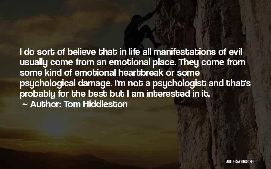 Tom Hiddleston Quotes 412218