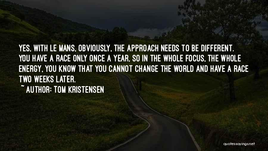 Tom Kristensen Quotes 2076892